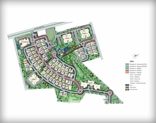 Prestige White Meadows Villas Master Plan