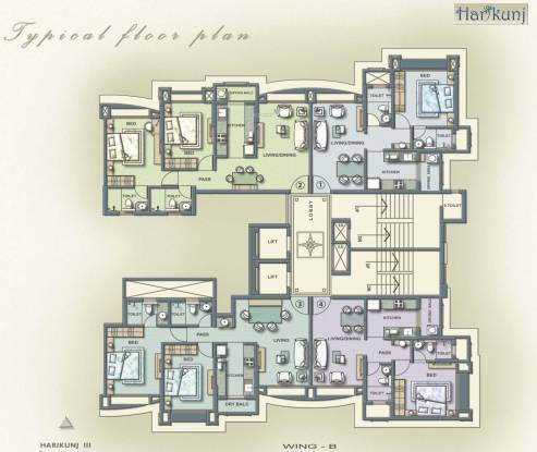Kukreja Hari Kunj III Cluster Plan