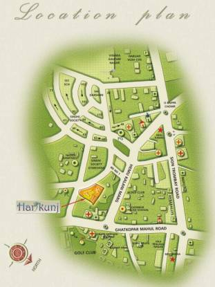 Kukreja Hari Kunj III Location Plan
