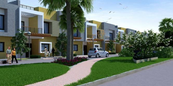 Samarth Shikharji Dreamz Villas Elevation