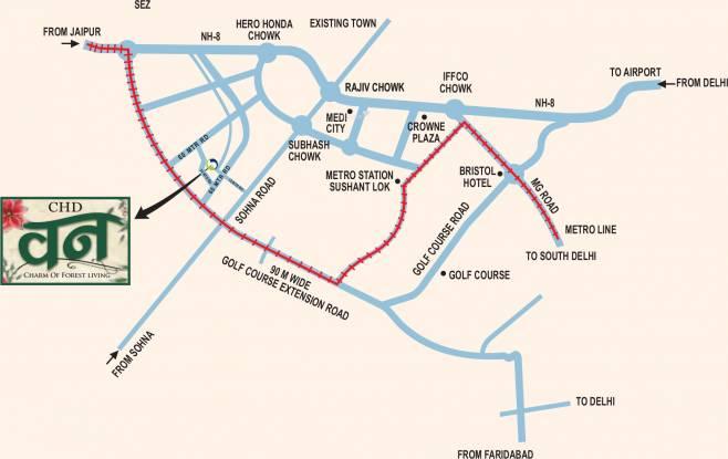 CHD Vann Location Plan