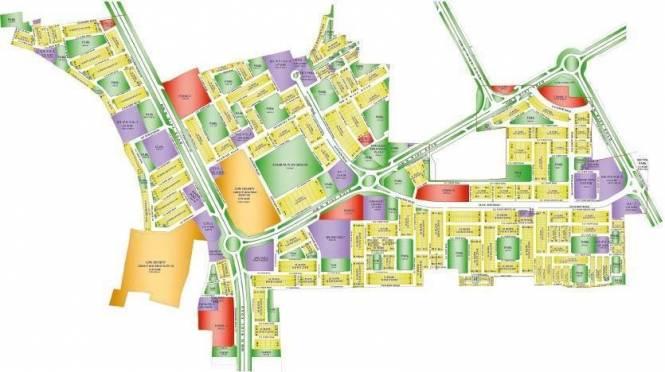 Ansal Sushant Taj City Layout Plan