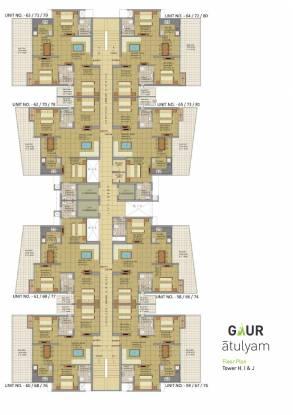 Gaursons Atulyam Cluster Plan