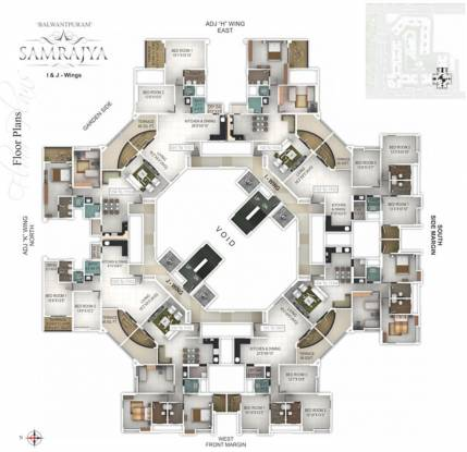 Pethkar Samrajya Cluster Plan