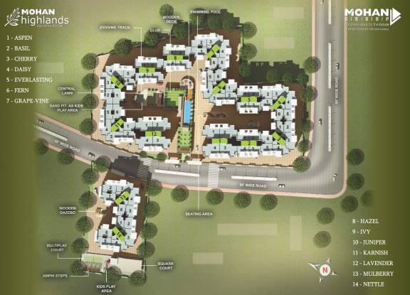 Mohan Highlands Site Plan