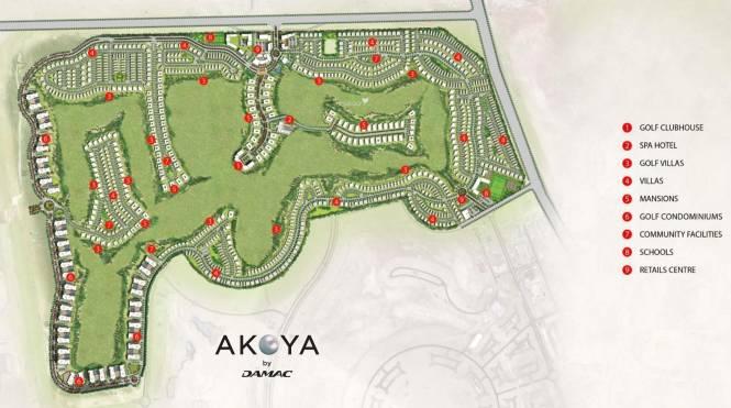 Damac Akoya Master Plan