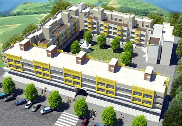 Mountain Bhagyashree Plaza Elevation