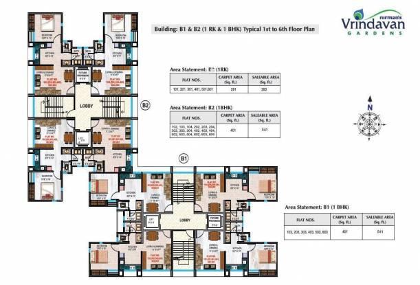 Nirman Vrindavan Gardens Cluster Plan