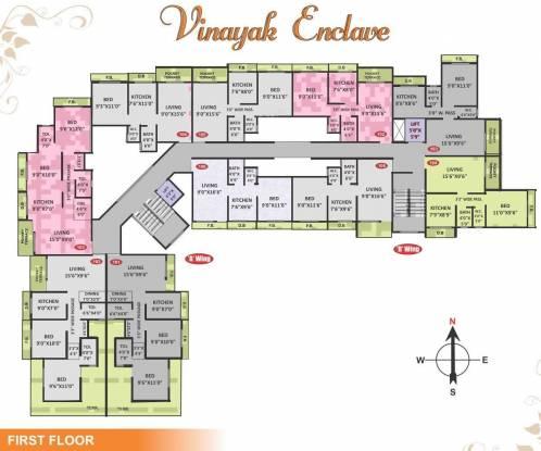 Shree Ganesh Vinayak Enclave Cluster Plan