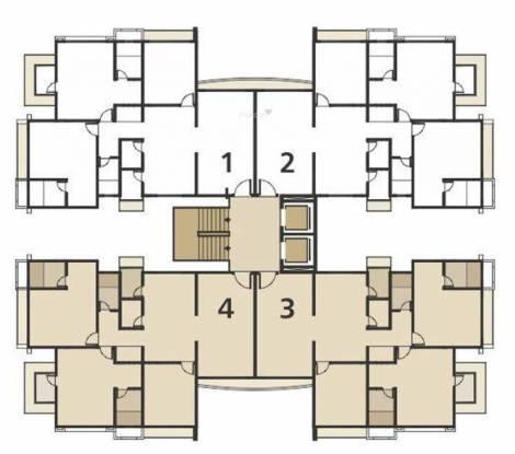 Happy Home Nandanvan III Cluster Plan