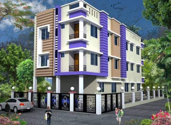 TM Builders and Developers Roynagar Place Elevation