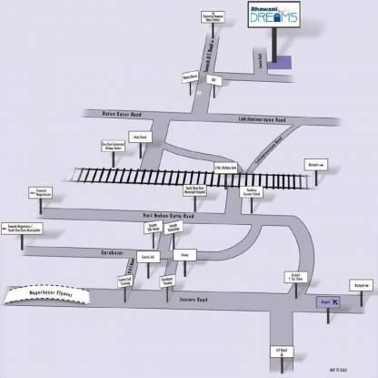Bhawani Dreams Location Plan