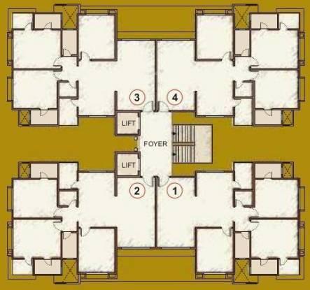 Happy Home Nakshatra Embassy Cluster Plan