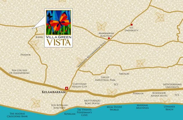 Vista Green Location Plan