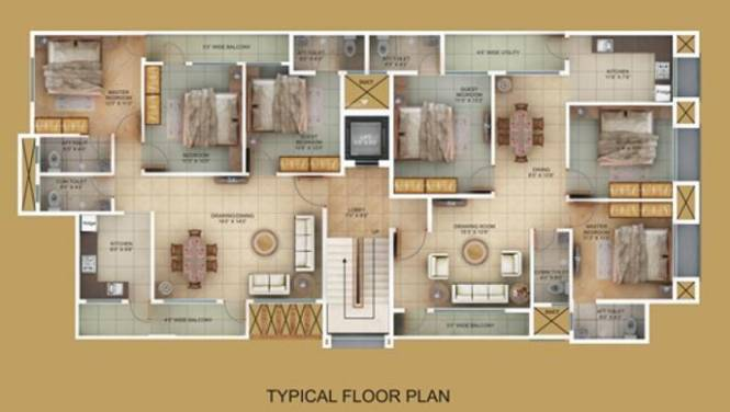 Satyam Heritage Cluster Plan