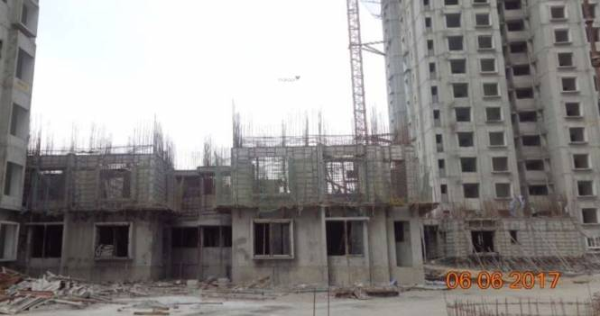DivyaSree Republic of Whitefield Construction Status