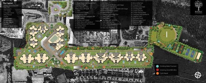DivyaSree Republic of Whitefield Master Plan