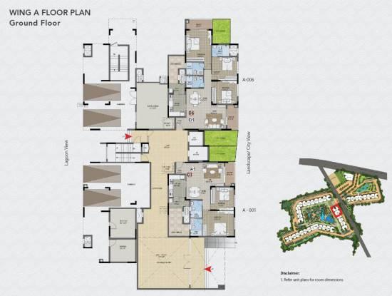 Purva Palm Beach Cluster Plan
