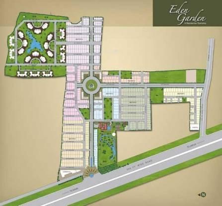 GHP Eden Garden Villas Layout Plan