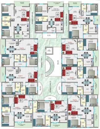 Hari Royal Palace Cluster Plan