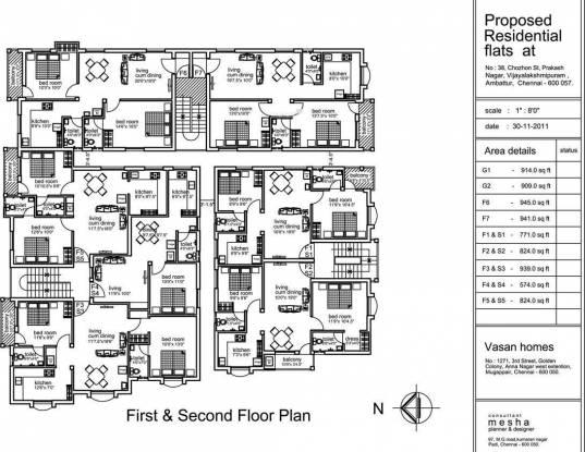 Vasan Chithanya Cluster Plan
