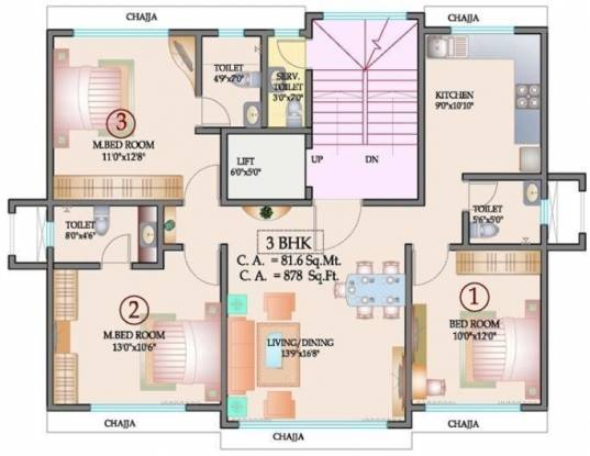 Sapphire Heights Cluster Plan