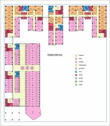 Jaydev Uni Park Cluster Plan