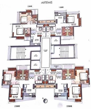 Runwal Eirene Cluster Plan