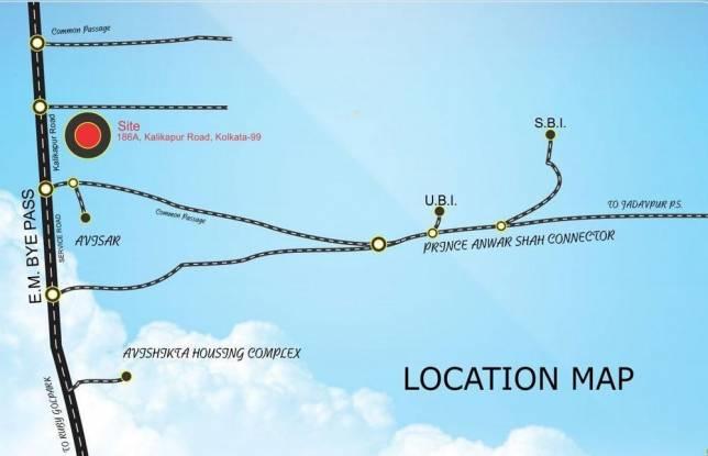 Biswanath Viswanath Pride Location Plan