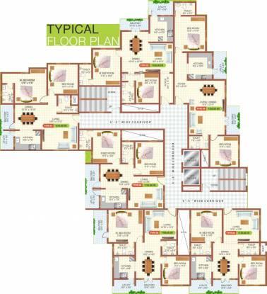 Malibu Belezza Cluster Plan