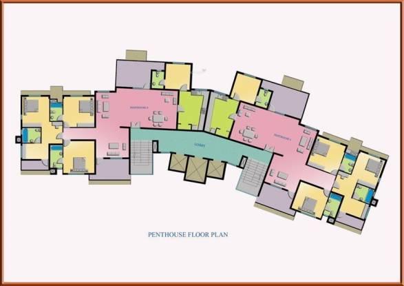 Galaxy Ellyzium Court Cluster Plan