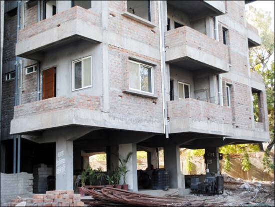 Satguru Gokul Residency Construction Status