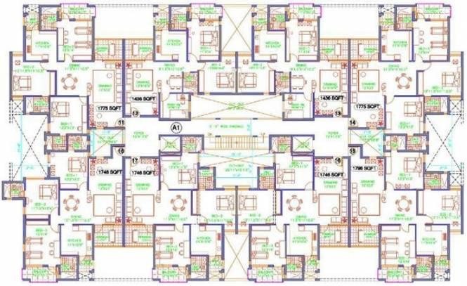 TVH Ekanta Cluster Plan