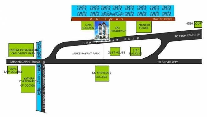 Desai DD Samudra Darshan Location Plan
