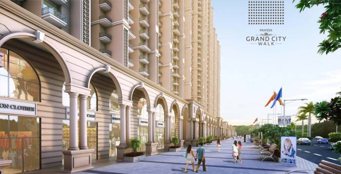 Prateek Grand City Elevation