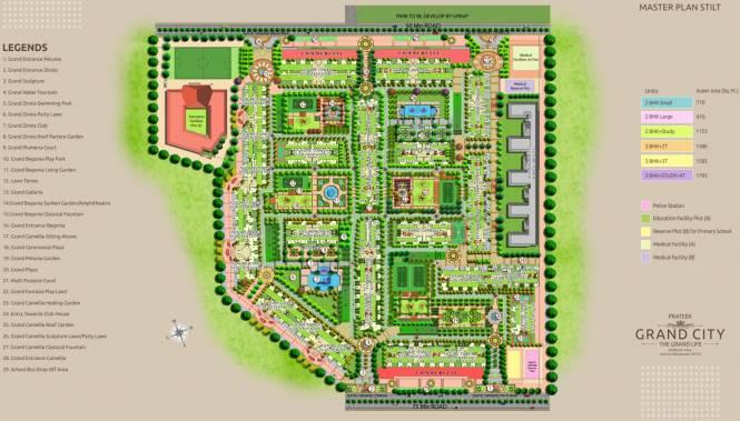 Prateek Grand City Master Plan