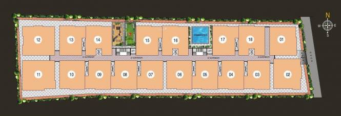 SLV Raj Driva Site Plan