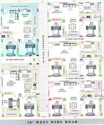 Suphala Arcade Cluster Plan