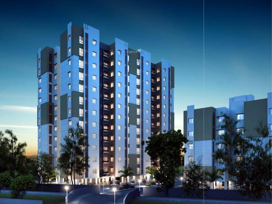 Pratham Riviera Apartments Elevation