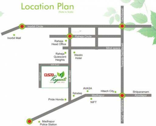 DSR Reganti Location Plan