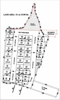 Avani Sukruti Homes Layout Plan