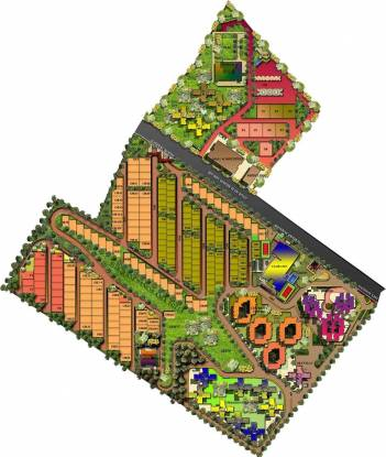 Shriram Panorama Hills Villas Master Plan