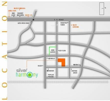 Avirat Silver Harmony Location Plan