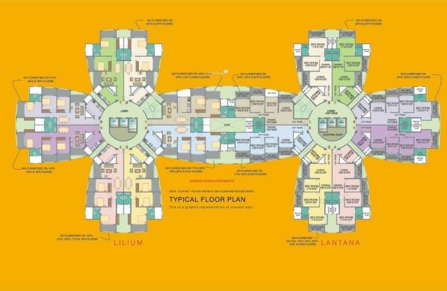 Nahar Lilium Lantana Cluster Plan