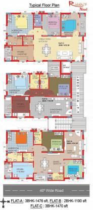 Riddhi Nest Cluster Plan