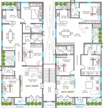 Lahari Park Cluster Plan