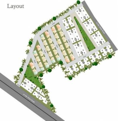 Akshar Paradise Apartments Layout Plan