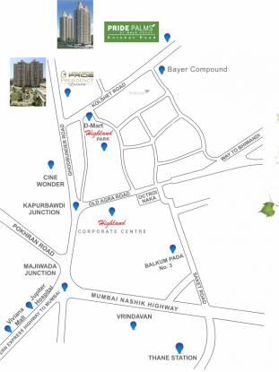 Gala Pride Palms Location Plan