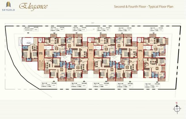 SkyGold Elegance Cluster Plan