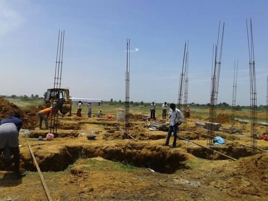 Shriram Santrupthi Independent Villas Construction Status